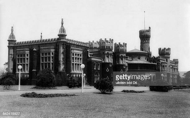 India Karnataka Bangalore view of the palace of the maharaja of Mysore in Bangalore 1929 Photographer Alice Schalek Published by 'Die Dame'...