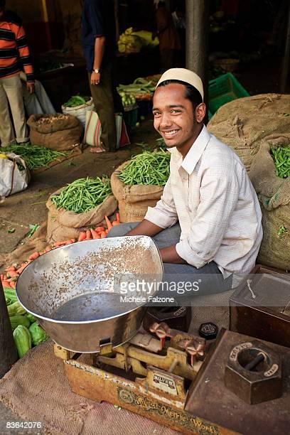 India, Karnataka, Mysore, Devaraja Market