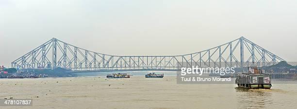 India, Kolkata, Calcutta, Howrah bridge