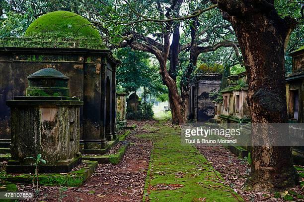 India, Kolkata, South Park street cemetery