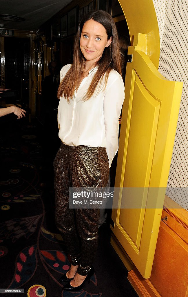 India Langton attends the launch of Bryan Ferry's new album 'The Jazz Age' at Annabels on November 22, 2012 in London, England.