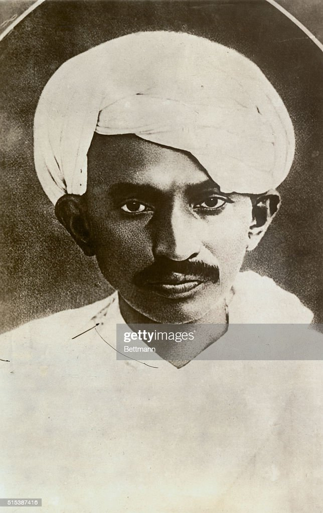 Leader of India for Liberation of India from British yoke to retire from all habitation. Mahatma Gandhi, famous Indian leader, after years of agitation for the liberation of India from the British yoke, has decided to go into complete retirement remote from all human habitation.