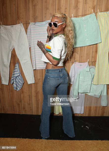 India Love attends AWGE presents A$AP Rocky x GUESS Club on March 10 2017 in West Hollywood California