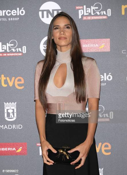 India Martinez attends the 2017 Platino Awards Welcome Party at Callao Cinema on July 20 2017 in Madrid Spain