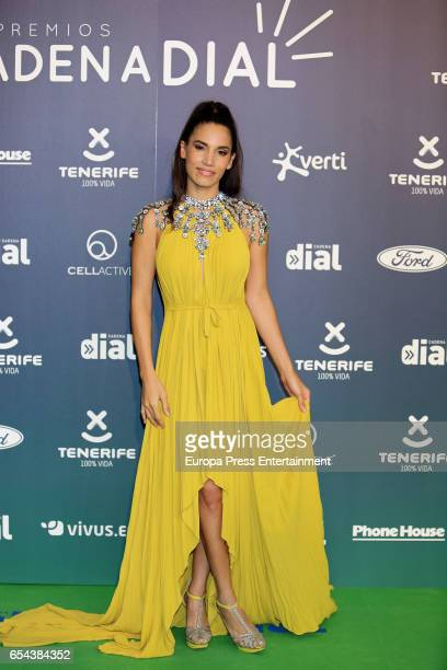 India Martinez attends the 'Cadena Dial' awards photocall on March 16 2017 in Tenerife Spain