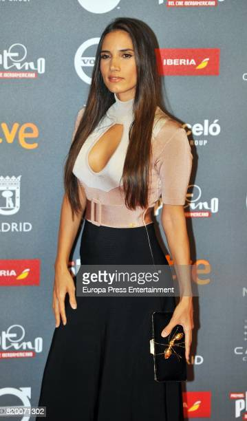 India Martinez attends the Platino Awards 2017 welcome Party on July 20 2017 in Madrid Spain