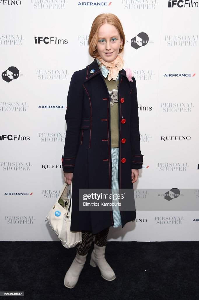 India Menuez attends the 'Personal Shopper' premiere at Metrograph on March 9, 2017 in New York City.