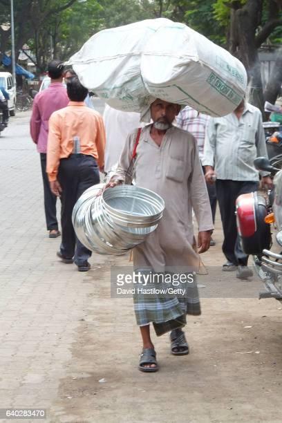 India Mumbai street scene