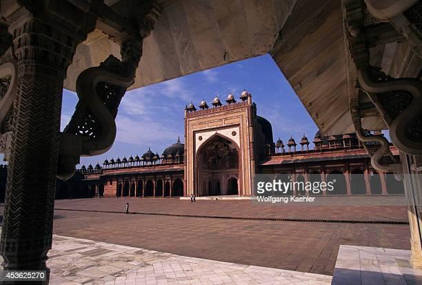 India Near Agra Fatehpur Sikri Mosque