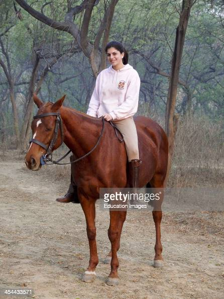 Girl Riding Horse Bareback Stock Photos And Pictures