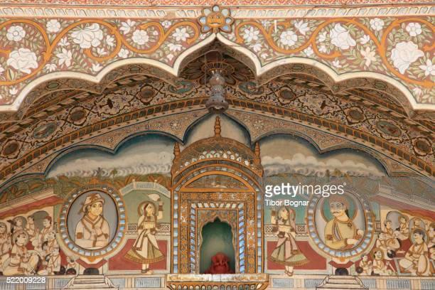 India, Rajasthan, Fatehpur, Nadine Le Prince Haveli,