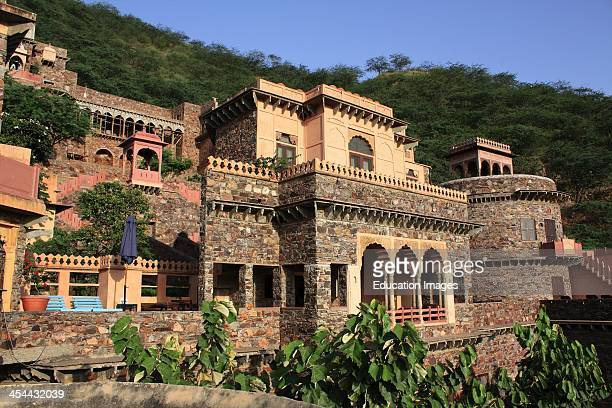 India Rajasthan State Neemrana Fort Palace A 15Th Century Fortress Now A Hotel