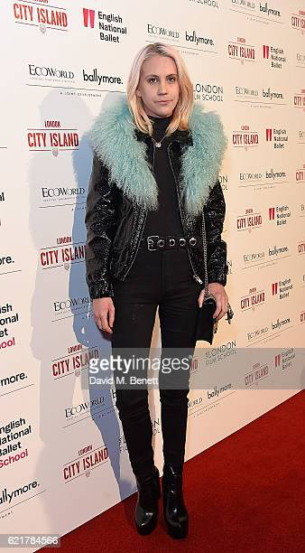 India Rose James attends the opening of London City Island the capital's new cultural neighbourhood on November 8 2016 in London United Kingdom