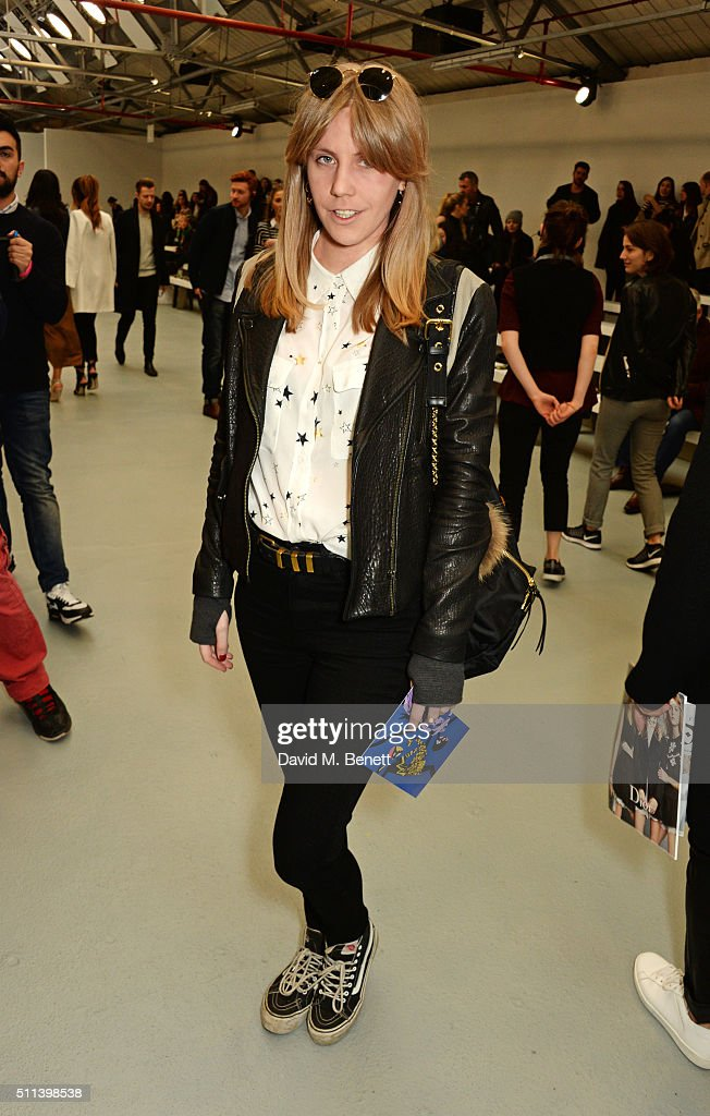 Sibling Front Row Lfw Aw16 Getty Images