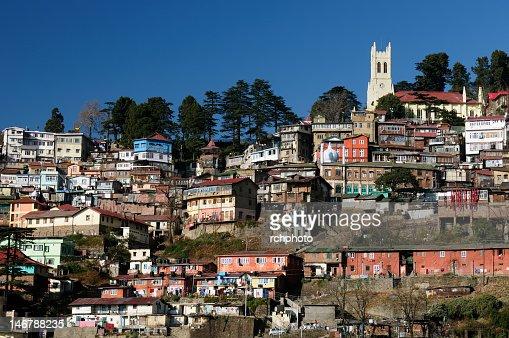 India, Shimla, Himalaya mountains : Stock Photo
