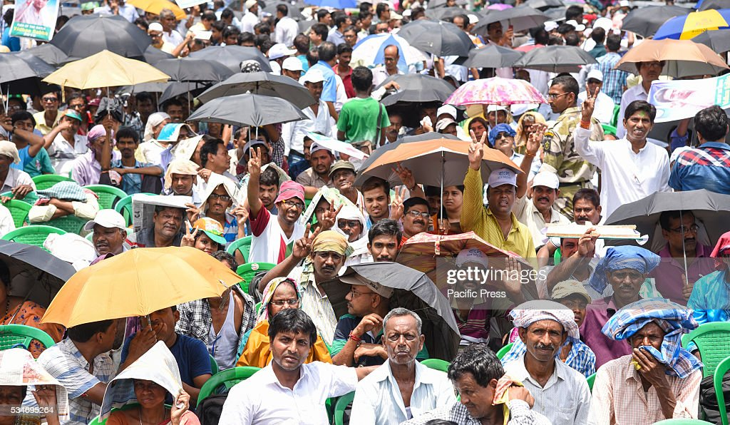 India Trinamool Congress Chief Mamata Banerjee was sworn in as West Bengals chief minister on Friday at Kolkata's Red Road, after her party registered a resounding victory in the recently concluded Assembly polls. The incumbent TMC won 211 out of the states 294 seat. This will be Banerjee's second term as chief minister.