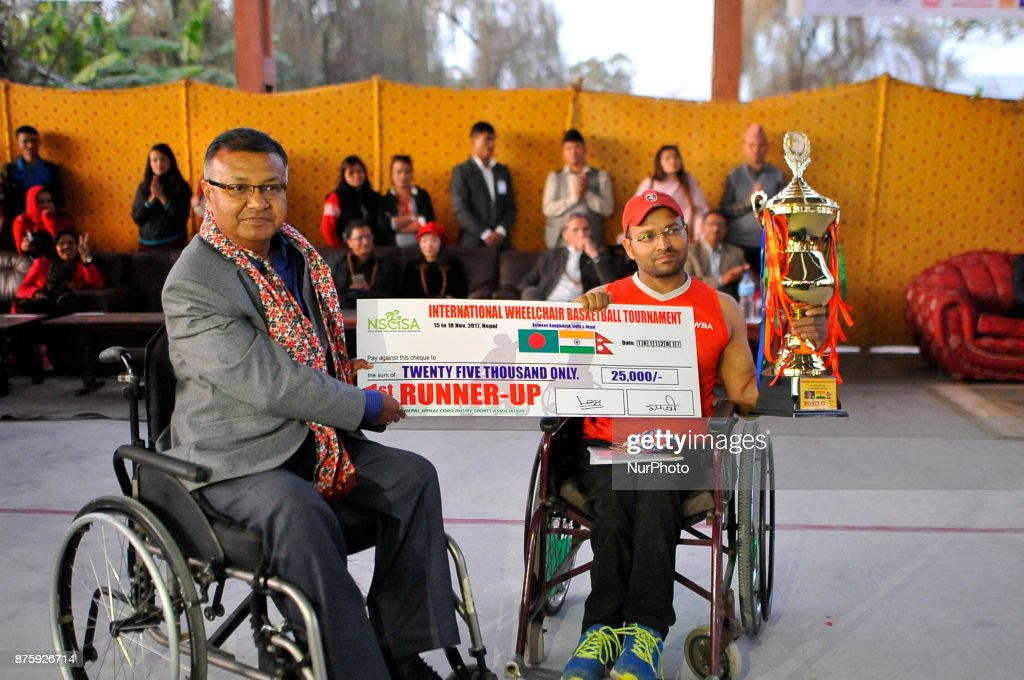 International Wheel-chair Basketball Tournament in Kathmandu