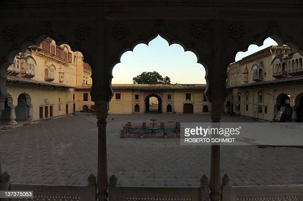 Indiaheritagetourismconservationbusiness FEATURE A view of an inner courtyard part of the Indian government owned heritage property Alwar city palace...