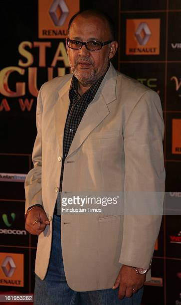 Indian actor Alok Nath during Star Guild awards at Yash raj Studio Andheri on February 16 2013 in Mumbai India