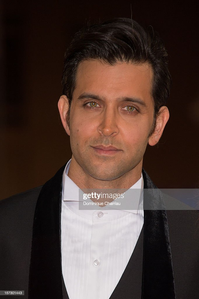 Indian actor <a gi-track='captionPersonalityLinkClicked' href=/galleries/search?phrase=Hrithik+Roshan&family=editorial&specificpeople=234615 ng-click='$event.stopPropagation()'>Hrithik Roshan</a> arrives for the tribute to Hindi cinema at the 12th Marrakech International Film Festival on December 1, 2012 in Marrakech, Morocco.