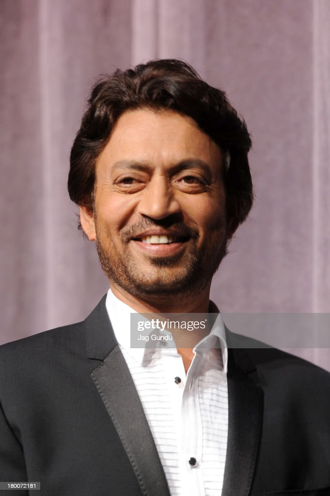 Actor Irrfan Khan arrives at the 'The Lunchbox' Premiere during the 2013 Toronto International Film Festival at Roy Thomson Hall on September 8, 2013 in Toronto, Canada.