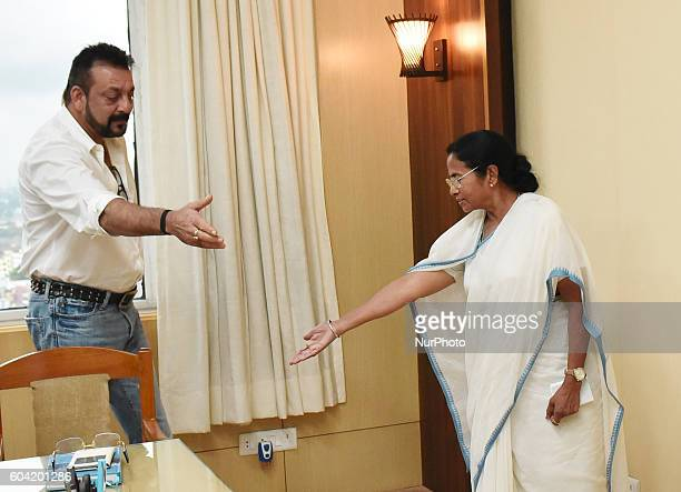 Indian Actor Sanjay Dutt paid a courtesy visit to West Bengal Chief Minister Mamata Banerjee at the Nabanna state secretariat in Kolkata September...