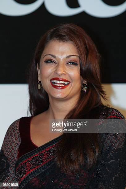 Indian actress Aishwarya Rai attends the Premiere of Paa on December 3 2009 in Mumbai India