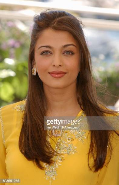 Indian actress and Cannes Film Festival Jury member Aishwarya Rai during a photocall for the jury who will pick the winning films at the Palais des...