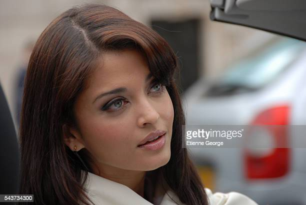 Indian actress and former Miss World Aishwarya Rai on the set of The Pink Panther 2 directed by Norwegian Harald Zwart
