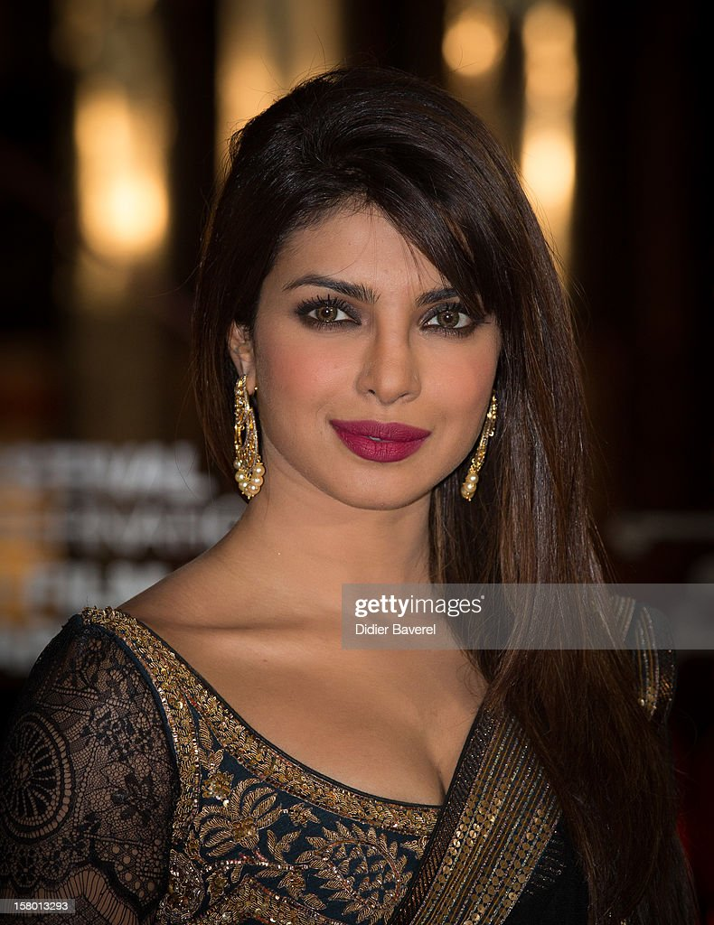 Indian actress and singer Priyanka Chopra attends the closing ceremony at 12th International Marrakech Film Festival on December 8, 2012 in Marrakech, Morocco.