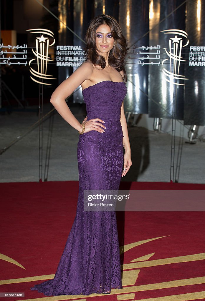 Indian actress Ileana D'Cruz attends the tribute to Jonathan Demme at 12th International Marrakech Film Festival on December 6, 2012 in Marrakech, Morocco.
