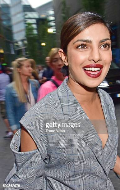 Indian actress Priyanka Chopra during the Baywatch European Premiere Party on May 31 2017 in Berlin Germany