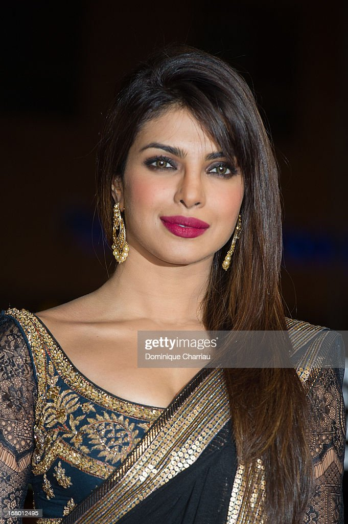 Indian actress Pryianka Chopra arrives to the awrard ceremony of the 12th International Marrakech Film Festival on December 8, 2012 in Marrakech, Morocco.