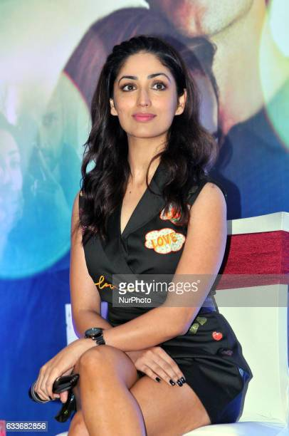 Indian Actress Yami Gautam during the meet the press to promote her New Film KAABIL on February 032017 in KolkataIndia