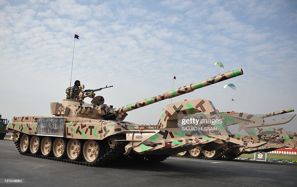 Indian army tank