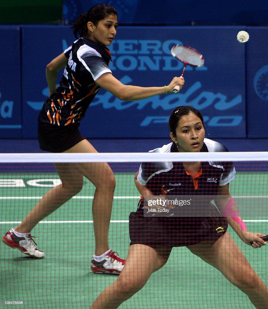 Women s Doubles Final Badminton Match
