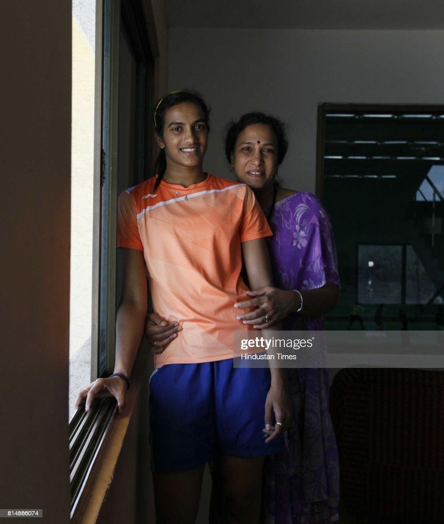 HT Exclusive Profile Shoot Indian Badminton Player P V