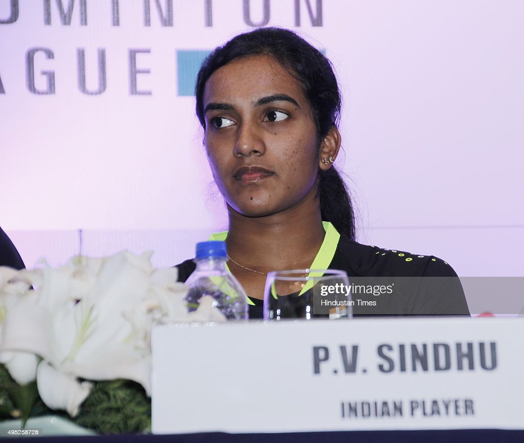 Badminton Player PV Sindhu At Press Conference IBL s and