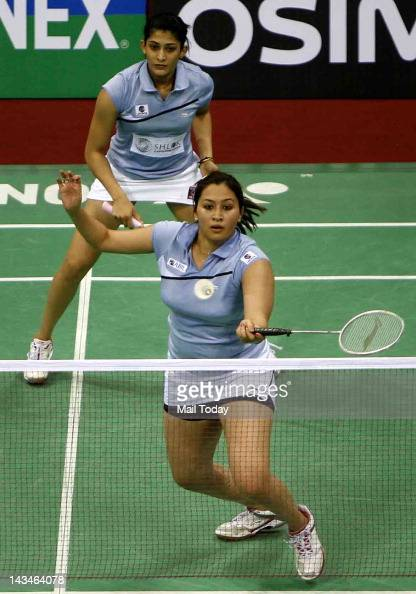 Yonex-Sunrise India Open 2012 Pictures   Getty Images Badminton Player Pairs Of India