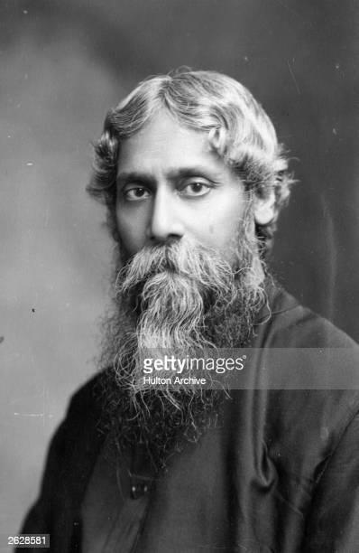 Indian Bengali poet Rabindranath Tagore