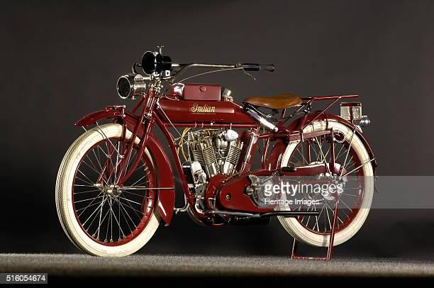 Indian big twin 1915 By Simon Clay