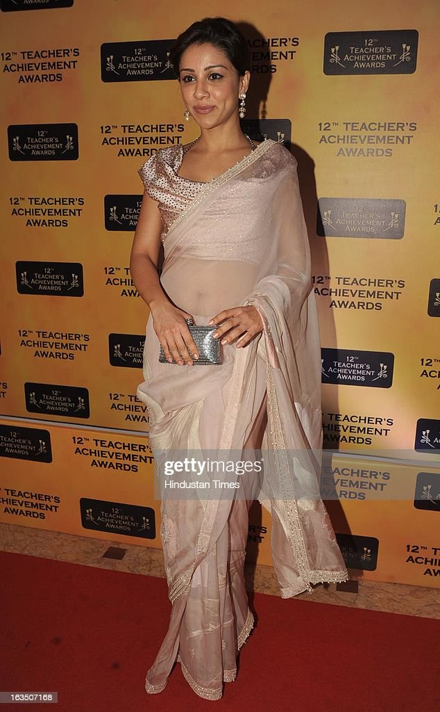 Indian bollywood actor Amrita Puri during the 12th Teachers Achievement Awards 2013 at the Hotel Taj Lands End, Bandra on March 9, 2013 in Mumbai,India.