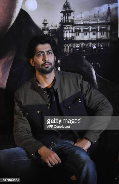 Indian Bollywood actor Ankur Bhatia during the trailer launch of his upcoming biographical crime Hindi film Haseena Parkar directed by Apoorva Lakhia...