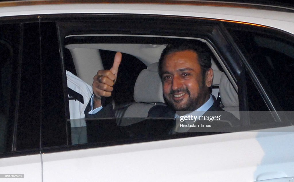 Indian Bollywood actor Gulshan Grover arriving for the Steven Spielberg's party which is organised by Anil Ambani, chairman of Anil Dhirubhai Ambani Group at Taj President, Cuffe Parade on March 12, 2013 in Mumbai, India. Spielberg is in India to celebrate the success of his film Lincoln, a co-production between his banner DreamWorks and Anil Ambani's Reliance Entertainment.