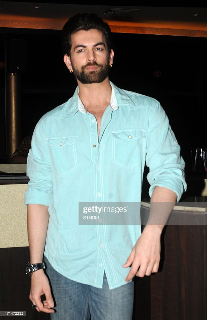 Indian Bollywood actor Nitin Neil Mukesh poses during a promotional event for India Luxury Style Week in Mumbai late April 28, 2015.