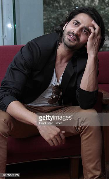 Indian Bollywood actor Puneet Singh Ratn during an exclusive interview for the promotion of upcoming movie Satya 2 at HT Media Office on November 6...