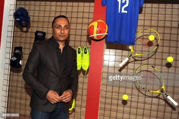 Indian Bollywood actor Rahul Bose attends the 'TOI Sports Awards 2017' in Mumbai on March 20 2017 / AFP PHOTO /