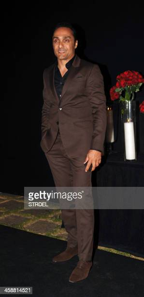 Indian Bollywood actor Rahul Bose poses as he arrives to attend a party hosted by actress Deepika Padukone in Mumbai late December 21 2013 AFP...