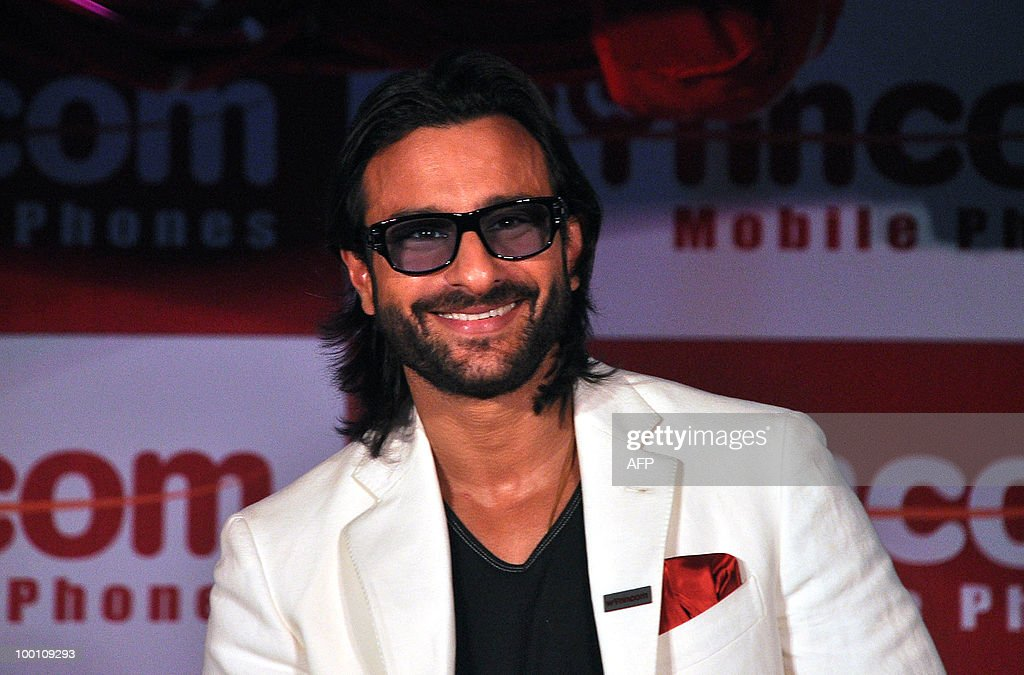 Indian bollywood actor Saif Ali Khan att