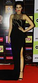 Indian Bollywood actress Kriti Sanon poses for a photograph during the 'Star Guild Awards 2015' in Mumbai on late January 11 2015 AFP PHOTO / STR